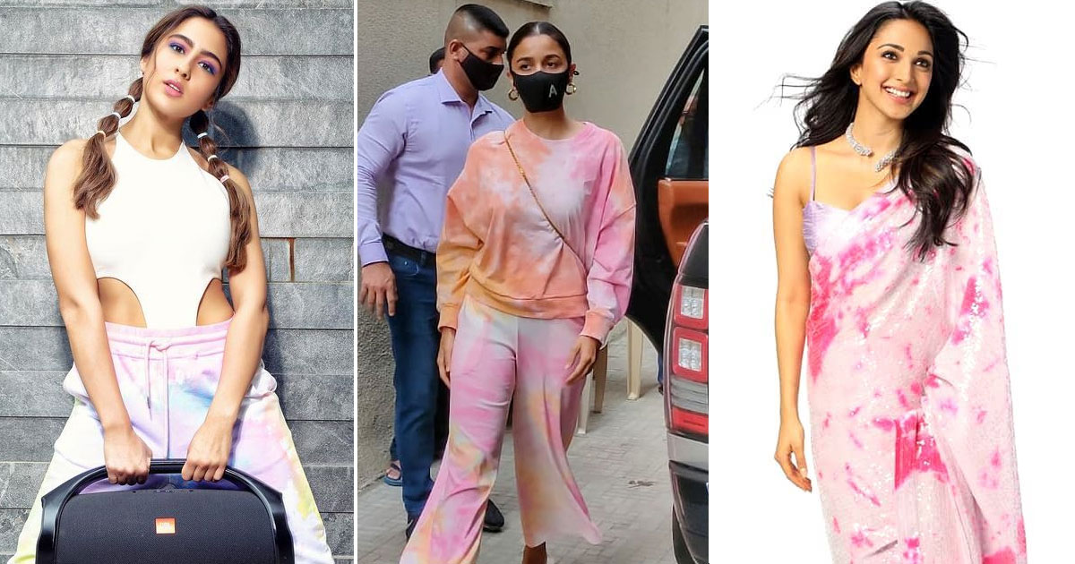 Sara Ali Khan, Alia Bhatt To Kiara Advani – Gear Up To Style Your Summer Wardrobe With Some Pretty Tie & Dye Outfits Inspired By Our B'wood Beauties