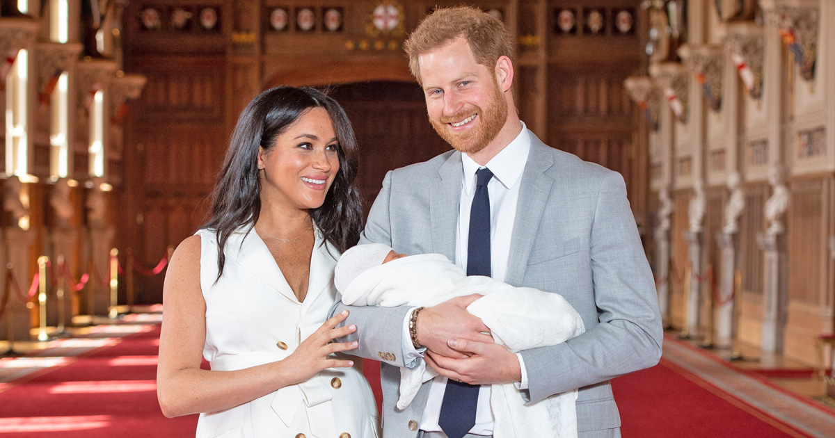 Meghan Markle's Name Goes Missing From Son Archie's Birth Certificate & She Did Not Request It