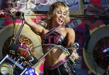 Miley Cyrus gets emotional while singing 'Wrecking ball' at Super Bowl