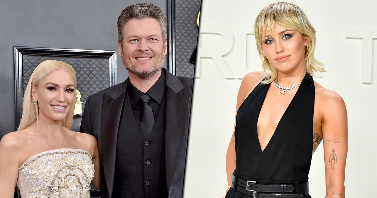 """Miley Cyrus Wants To Sing At Gwen Stefani & Blake Shelton's Wedding: """"I Promise To Be On My Best Behavior"""""""