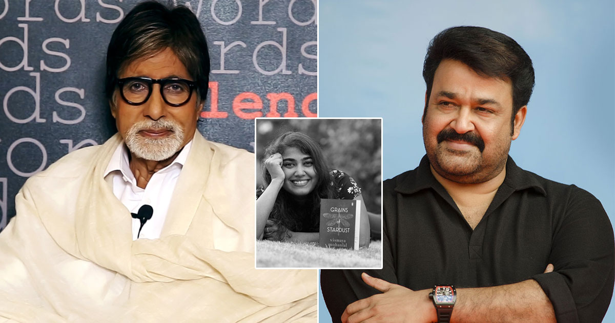 Mohanlal gifts Big B daughter Vismaya's book Grains Of Stardust