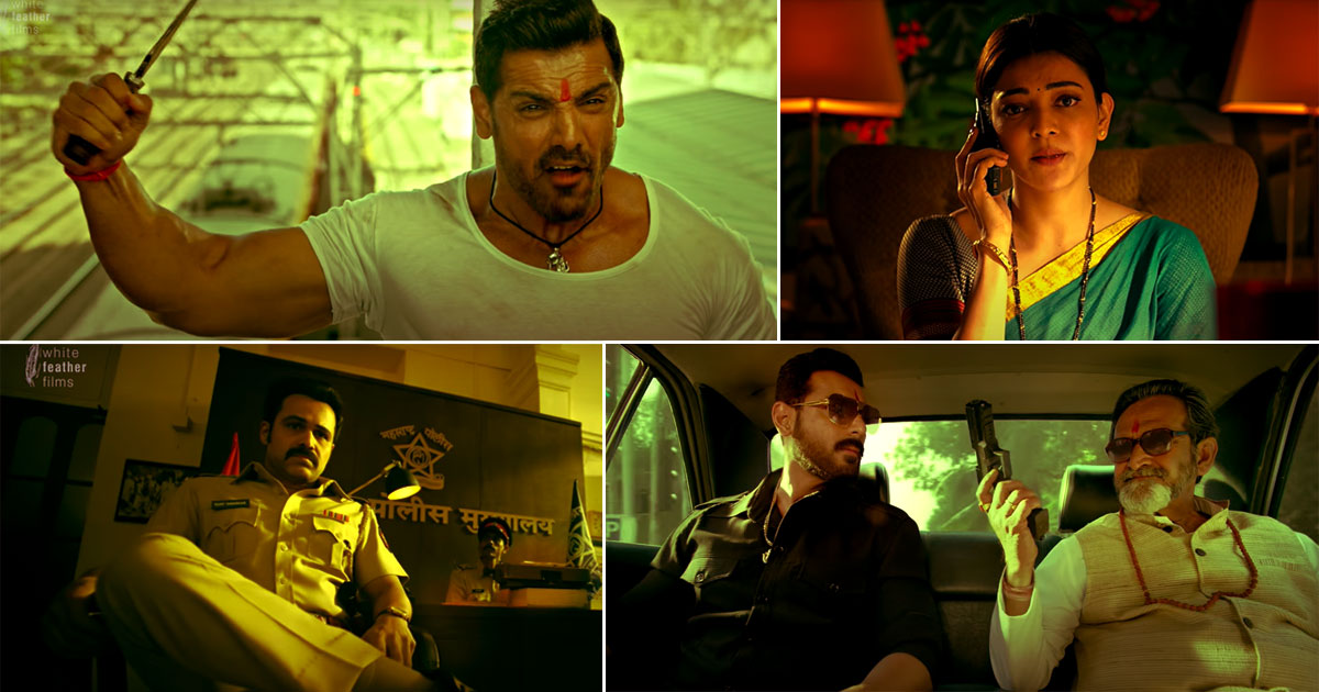 Mumbai Saga Trailer Released