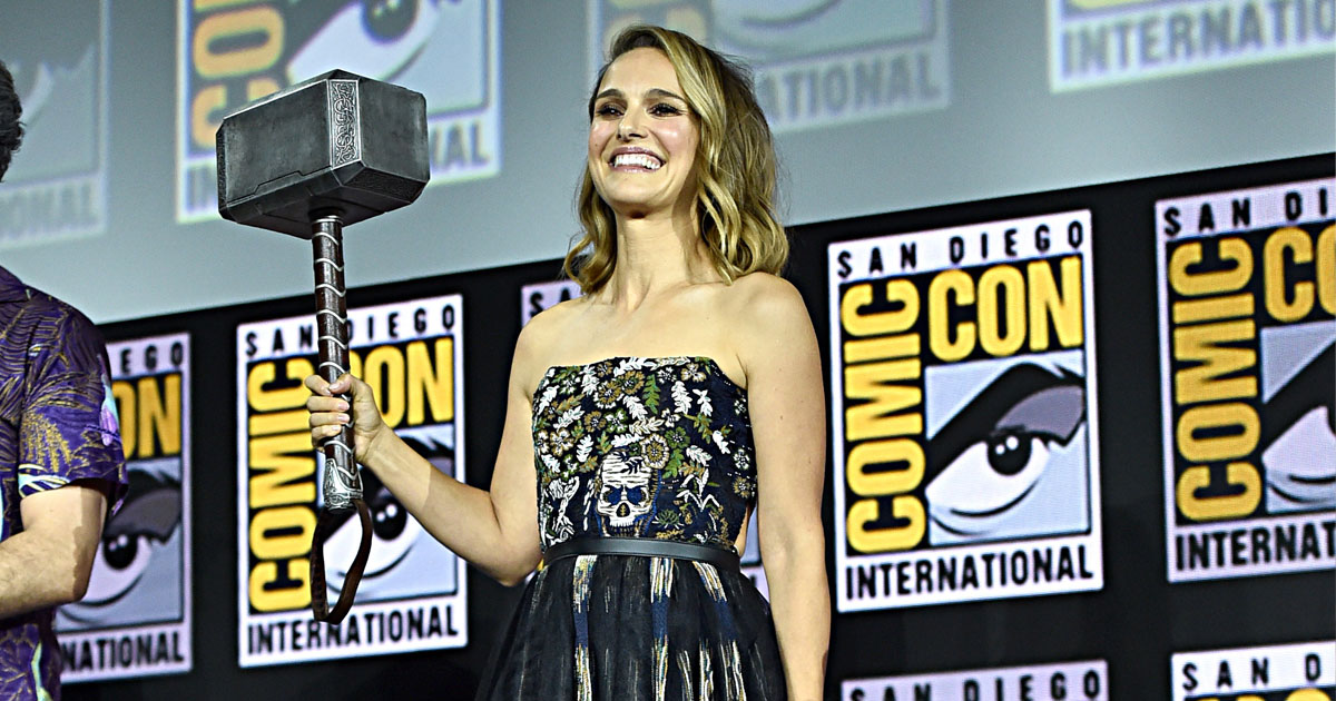 Natalie Portman's Comeback Confirmed In These New Thor: Love And Thunder Set Images