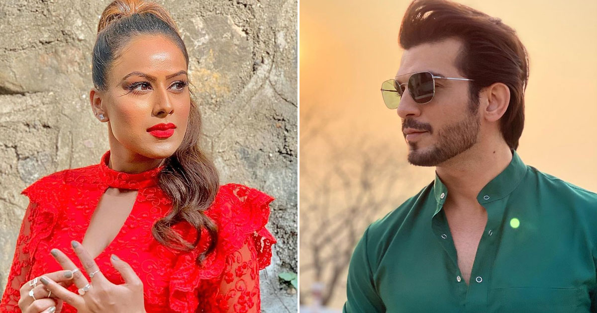 Nia Sharma & Arjun Bijlani Look Inseparable In The New Pictures From Set