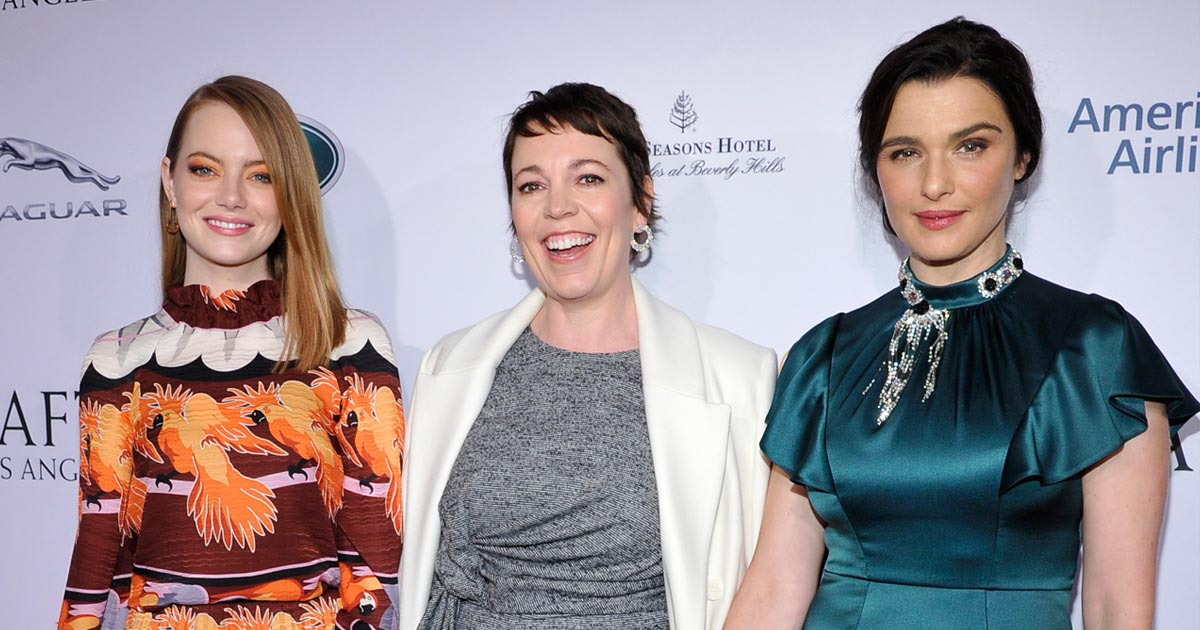Olivia Colman Reveals Her 'The Favourite' Co-Stars Rachel Weisz & Emma Stone Gave Up Oscar 2019 Nominations In The Best Actress Category For Her