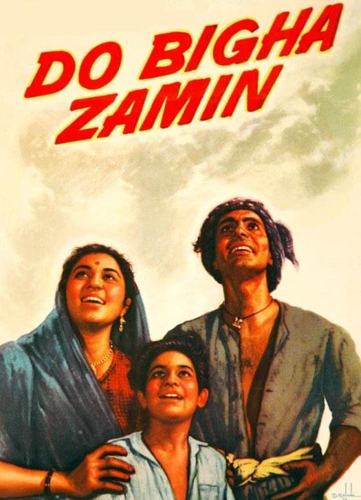 Poster Of Bimal Roy's Do Bigha Zamin