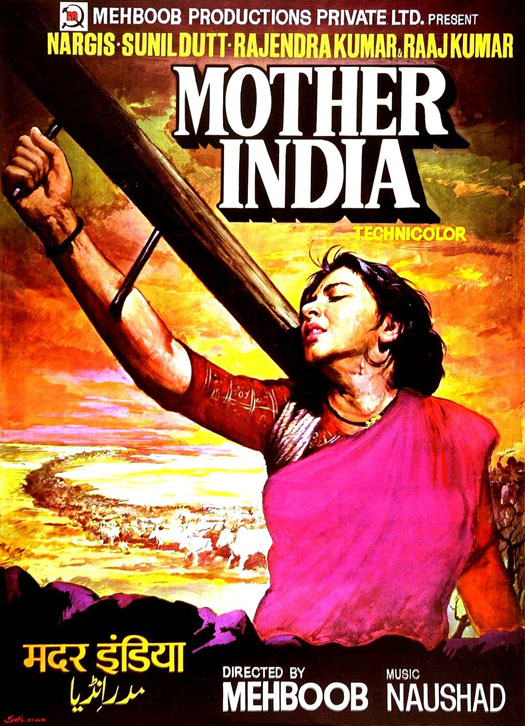 Poster Of Mehboob Khan's Mother India