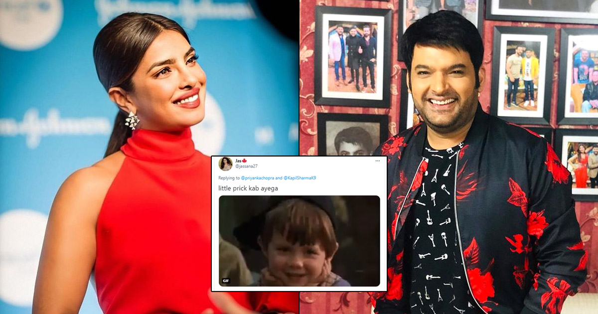 """Priyanka Chopra Congratulates Kapil Sharma & Ginni Chatrath For Their Baby But Gets Questioned """"When Is Little 'Prick' Coming?"""""""