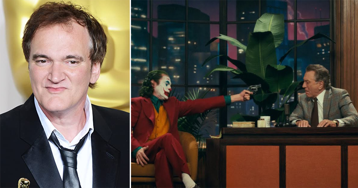 "Quentin Tarantino Talks On Murray Franklin Murder Scene In Joker: ""That's Subversion On A Massive Level"""