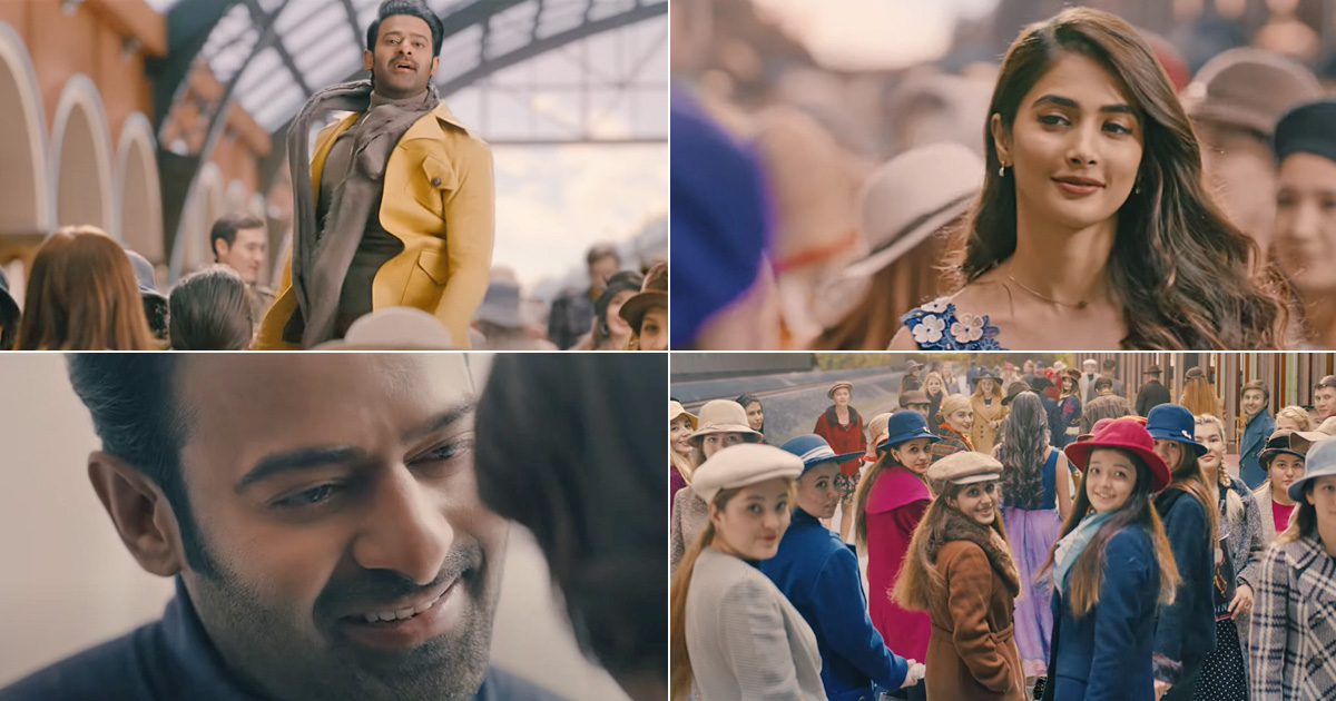 Radhe Shyam Glimpse Out: Prabhas & Pooja Hegde Are Here To Take Your Breath Away With Their Romance, Watch!