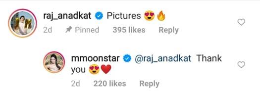 Raj Anadkat Reacts On Munmun Dutta's Pic