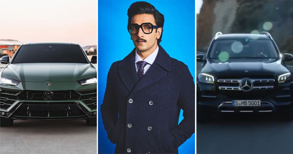 Mercedes-Benz GLS To Lamborghini Urus: Ranveer Singh Owns These Swanky Cars In His Garage
