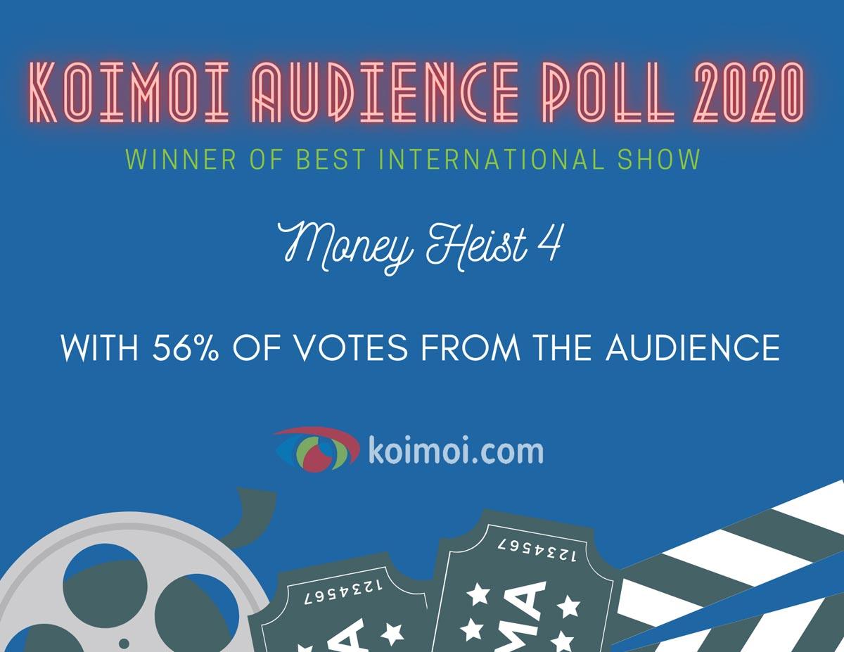 Result Of Koimoi Audience Poll 2020: MONEY HEIST 4
