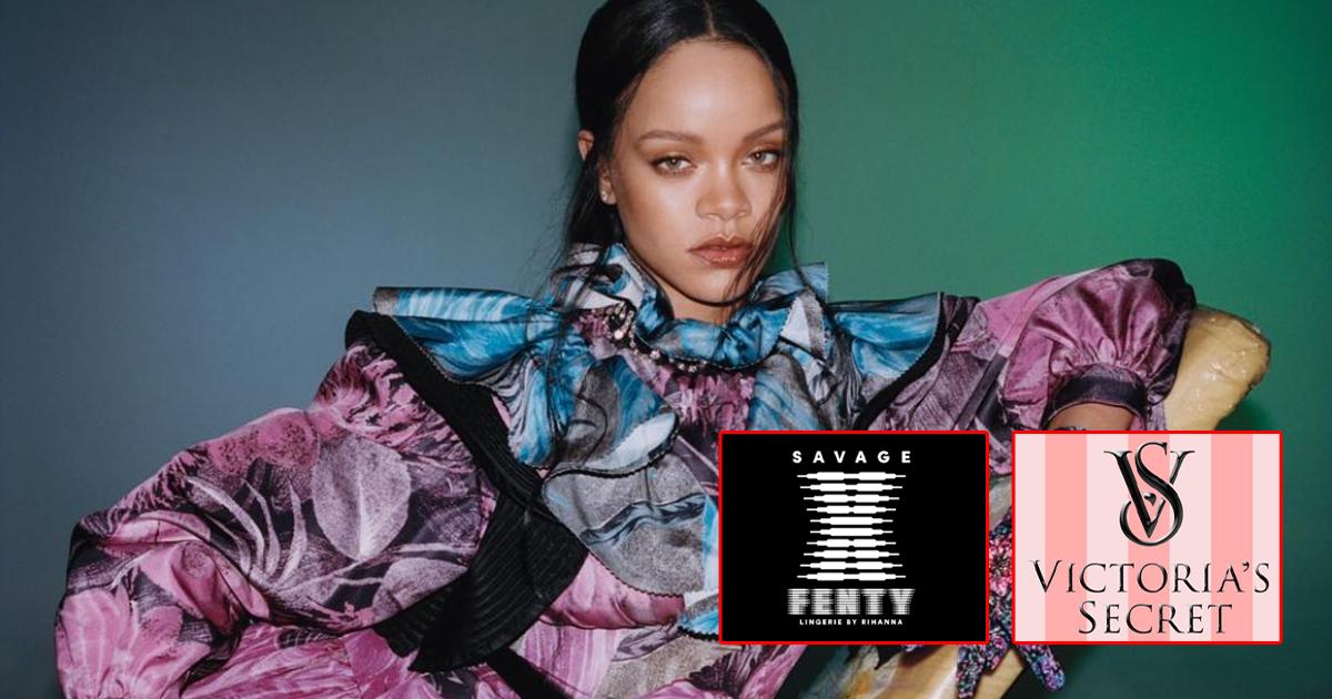 Rihanna's Savage VS Victoria Secret Is On After Fenty Shuts Down!