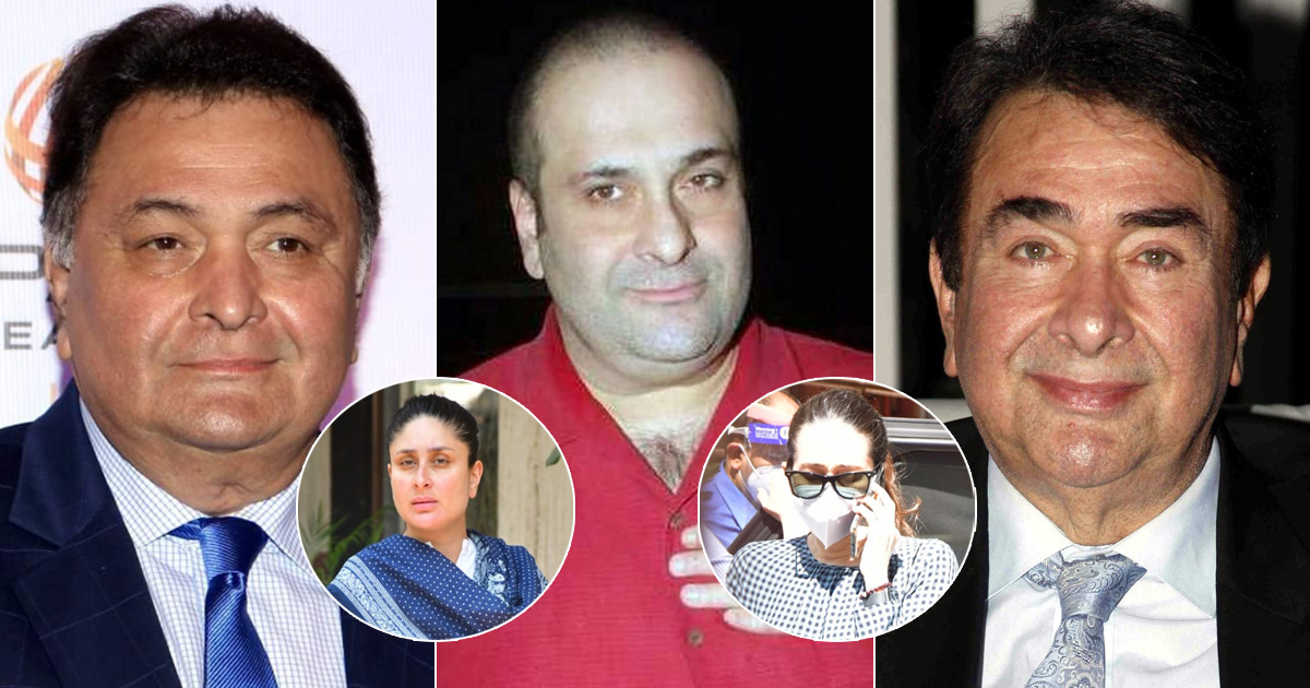 Late Rishi Kapoor & Randhir Kapoor's Younger Brother Rajiv Kapoor Passes Away; Kareena Kapoor Khan, Karisma Kapoor Arrive
