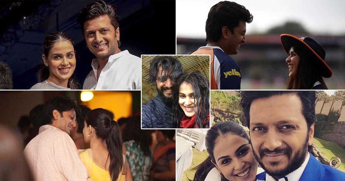 Happy Anniversary Riteish Deshmukh & Genelia Deshmukh: The Couple Jiske Naal Sabko Love Ho Gaya