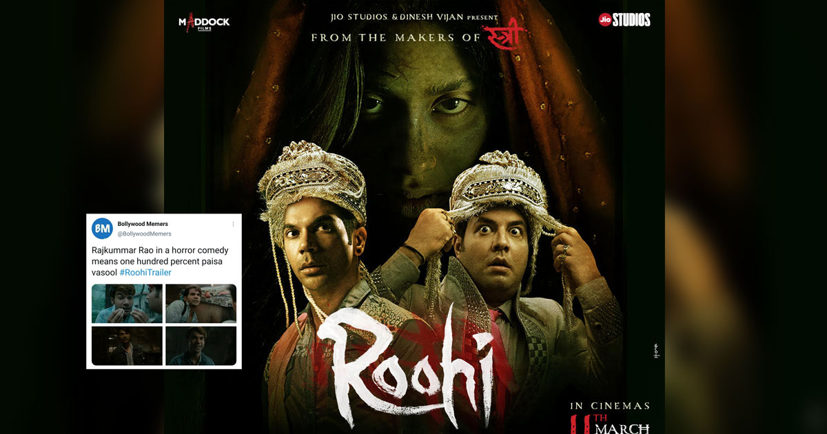 Roohi Trailer: Fans share their excitement for the film, with these hilarious memes; check them out