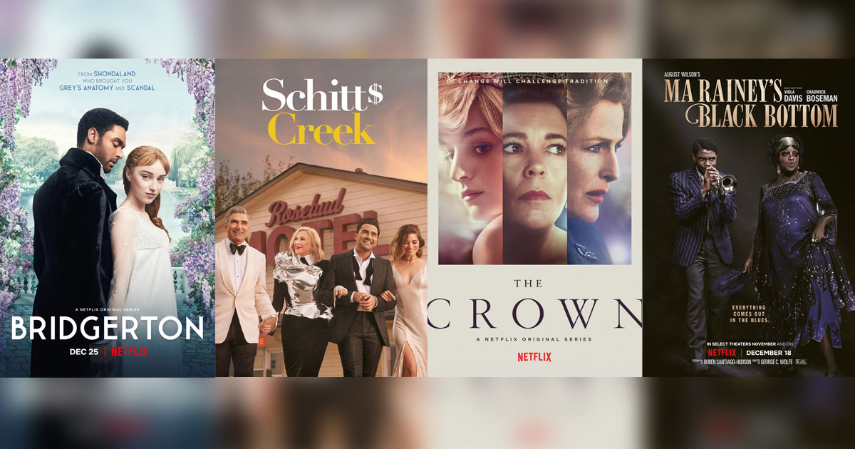 SAG Awards 2021 Nominations List Is Here! Schitt's Creek & The Crown Get 5 Nods Each; Chadwick Boseman Earns A Best Actor Mention