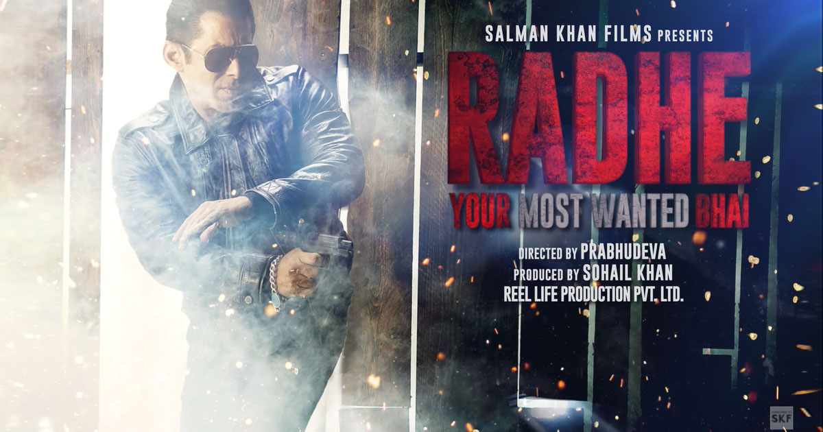 Salman Khan Gets An 'Unheard Of Amount' Offer To Release Radhe On OTT?