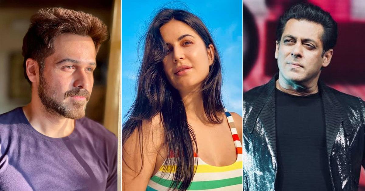 Salman Khan, Katrina Kaif & Emraan Hashmi Attend A Puja At YRF