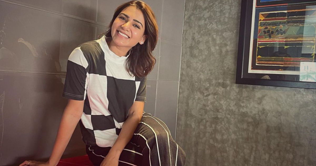 Samantha Akkineni soaks in the 'joy of being able to pause'