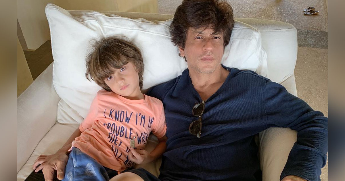 "Shah Rukh Khan Goes ""Arre Yaar!"" After Gauri Khan Shares Picture Of AbRam From Boxing Session; Here's Why"