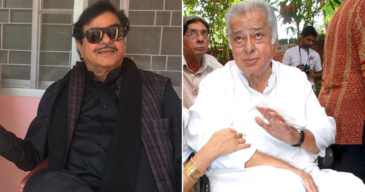 Shatrughan Sinha Was Once Chased With A Belt By Sashi Kapoor!