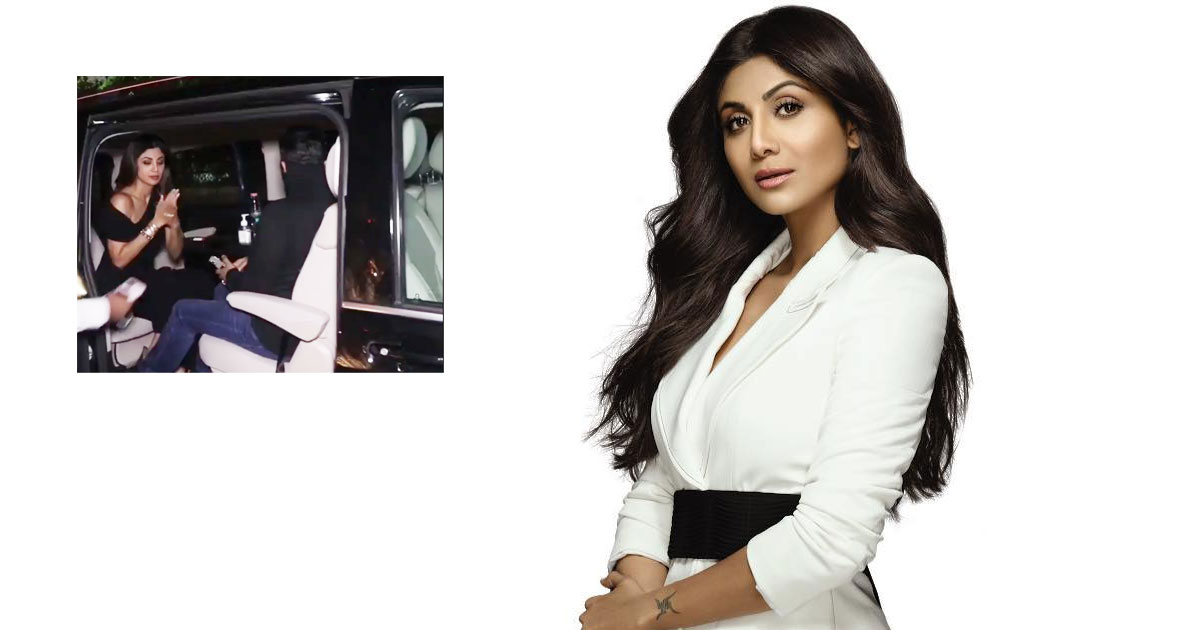 Shilpa Shetty & Raj Kundra Treat Themselves With A Stylish '90 Lakh' Worth Of Mercedes-Benz V-Class Car, Watch!