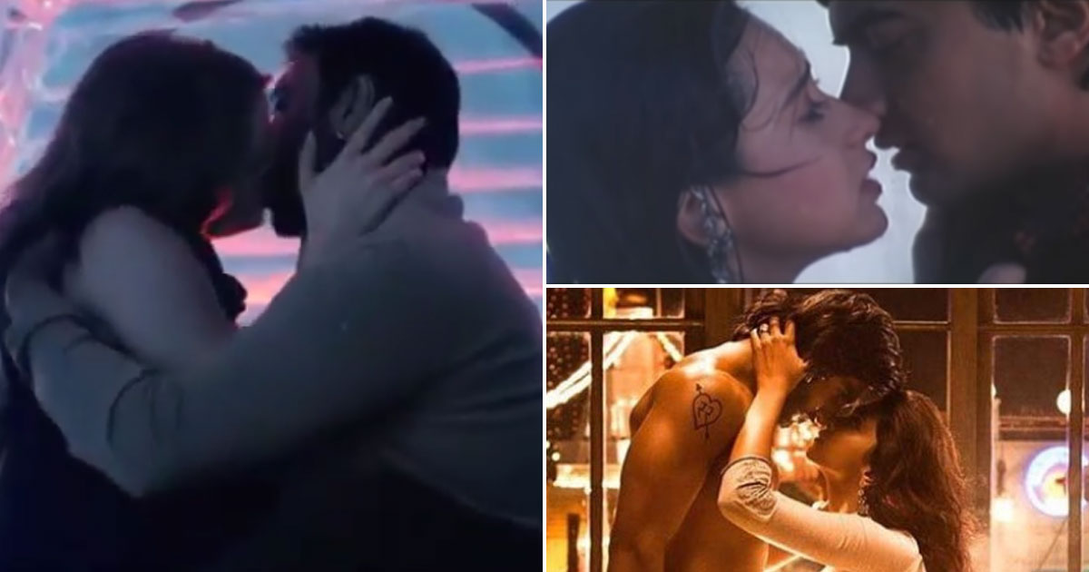 Shivaay, Raja Hindustani & Goliyon Ki Raasleela Ram-Leela, This Kiss Day Check Out The Longest Bollywood Kisses