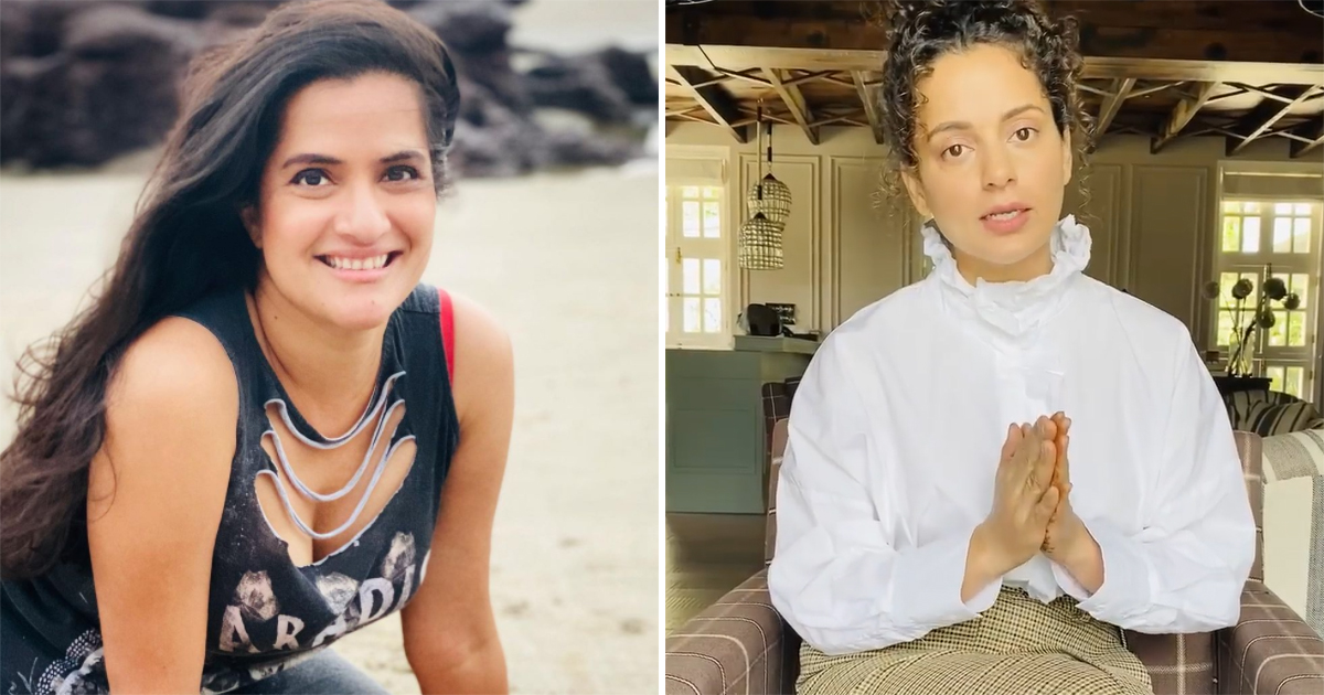 Sona Mohapatra Asked Who Will Make Vaccine To Save People From Kangana Ranaut; Takes A Sly Dig In Response!