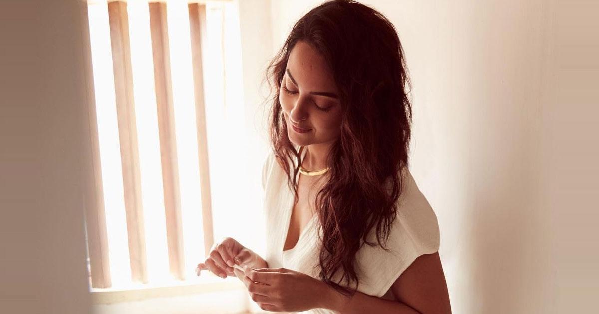 Sonakshi Sinha shines in pristine white ensemble