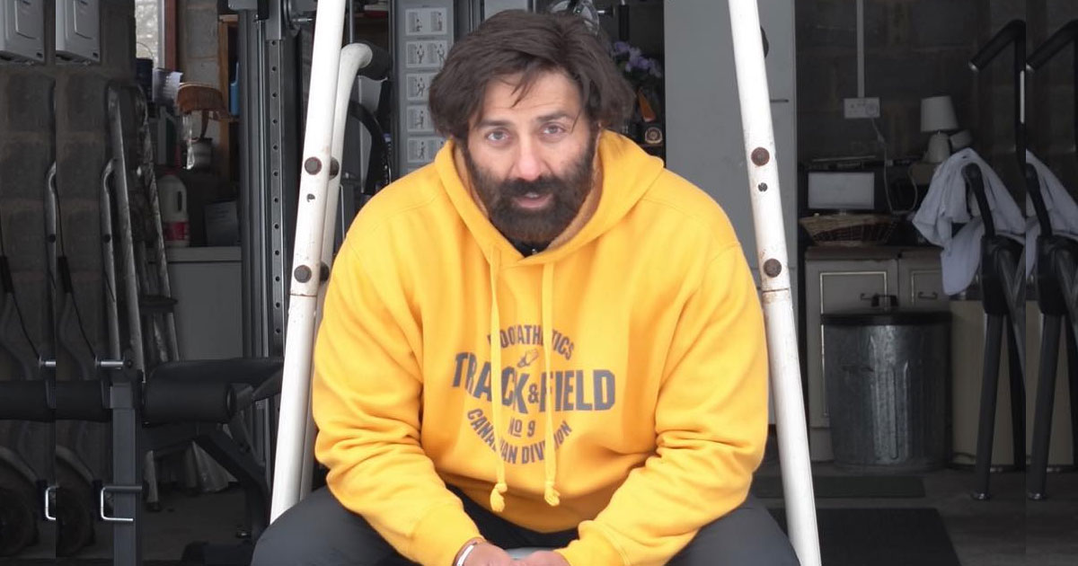 Sunny Deol Does His Bit To Help The Film Industry & Exhibitors
