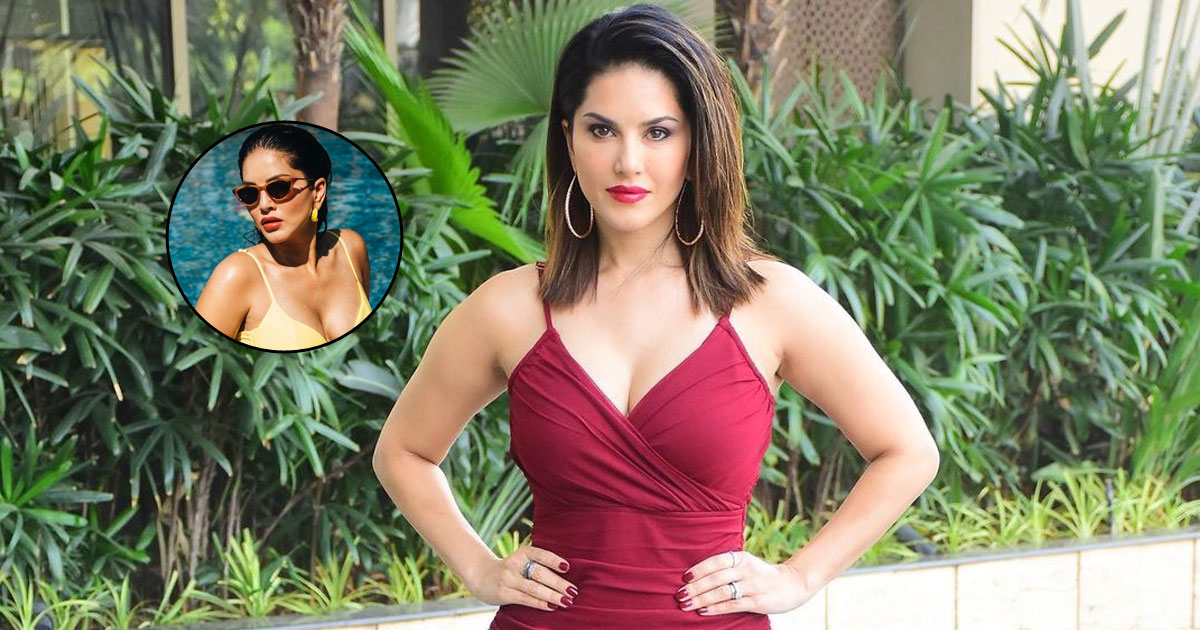 Sunny Leone unleashes 'Monday distraction' from the pool