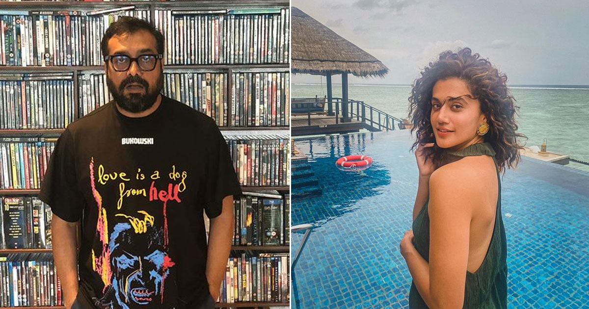 After Manmarziyaan, Taapsee Pannu & Anurag Kashyap To Collaborate For 'Something Special'