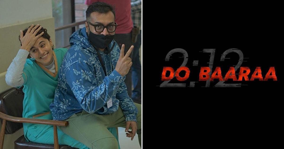 Taapsee Pannu starts shooting for Anurag Kashyap's 'Dobaaraa'