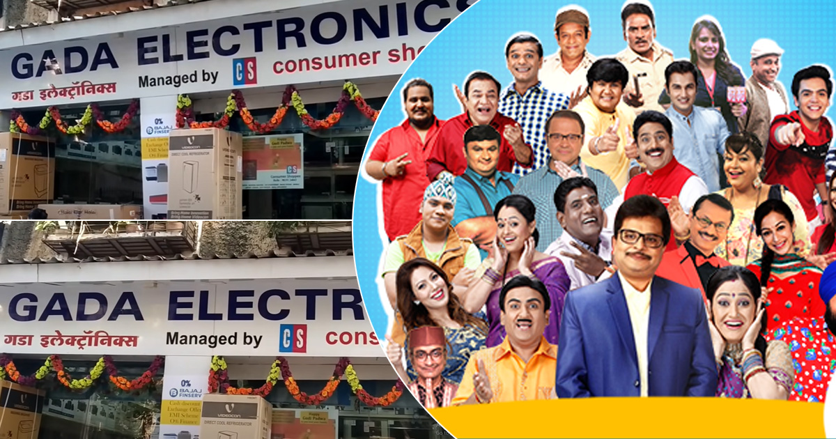 Taarak Mehta Ka Ooltah Chashmah: How The Makers Of The Shos Helped The Sales Of Real Gada Electronics