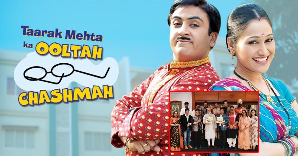 Taarak Mehta Ka Ooltah Chashmah: When Dilip Joshi, Shailesh Lodha & Others Met PM Narendra Modi, Check Out Pic