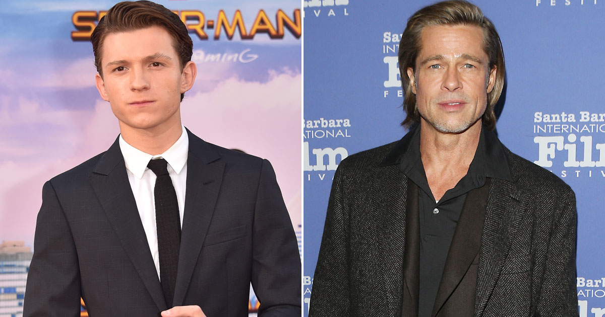 Tom Holland Feels Brad Pitt Has Got A Similar Body Type & Would Be Perfect Star To Lead His Biopic
