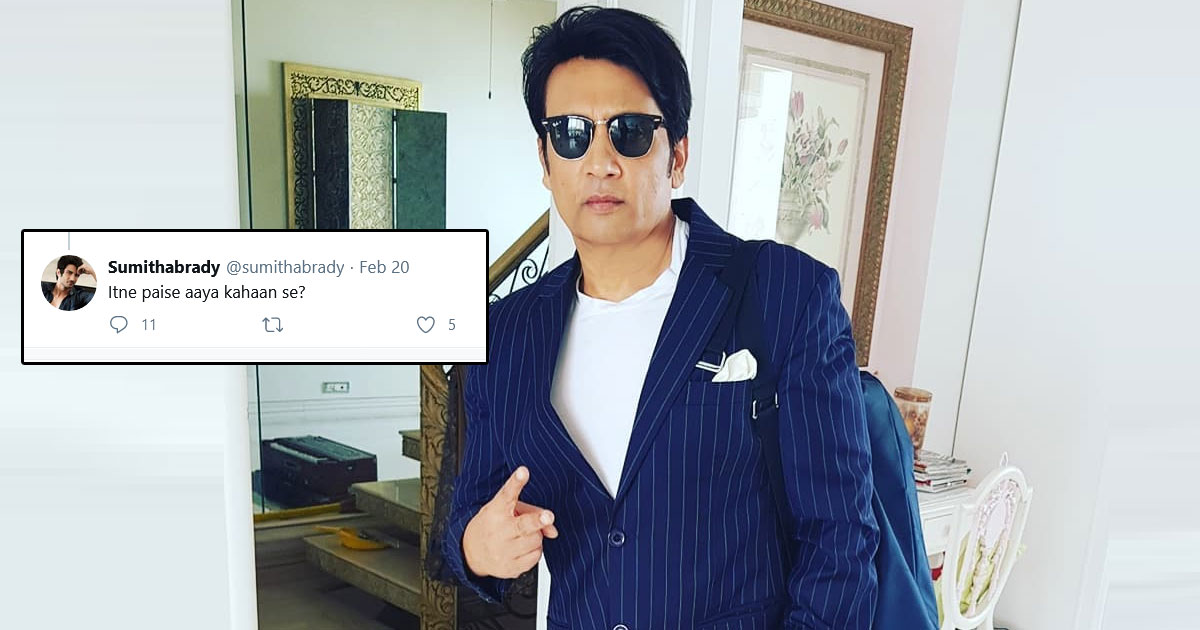 Shekhar Suman Gives It Back To Troll Questioning His Income
