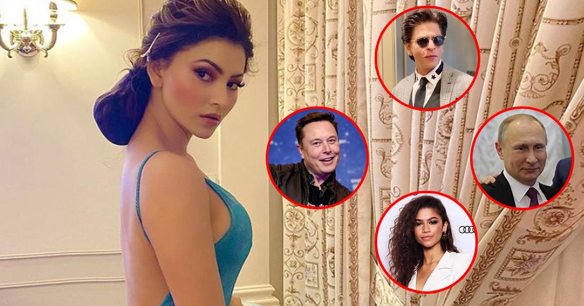 Urvashi Rautela's Birthday Party Wishlist Includes Elon Musk, Vladimir Putin, Shah Rukh Khan & Zendaya, Find Out