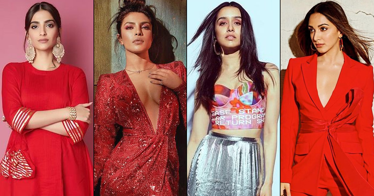 Valentine's Day 2021 Outfit Ideas: From Priyanka Chopra Jonas' Plunging Necklines To Sonam Kapoor's Desi Vibes – Here's How To Wear Love On Your Sleeve!