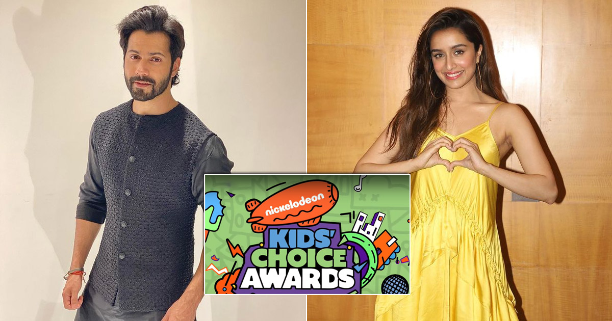 Varun Dhawan, Shraddha Kapoor voted kids icons