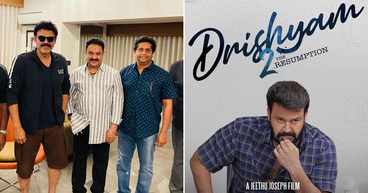 Telugu Remake Of Drishyam 2 Starring Venkatesh Is All Set To Kick-Start In March!