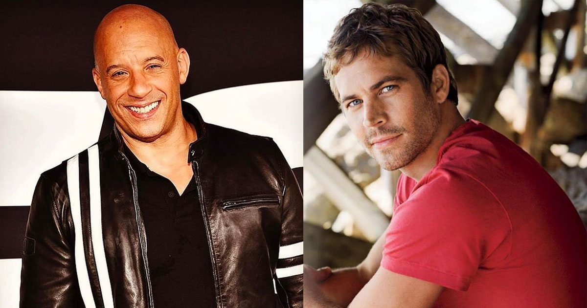 Vin Diesel Remembers Paul Walker By Sharing A Mashed Up Photo