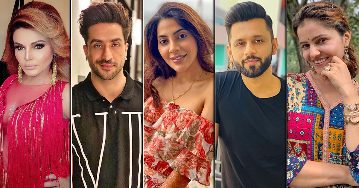 Vote For The Contestant You Think Will Win Bigg Boss 14 - Rahul Vaidya, Rubina Dilaik Or Others?