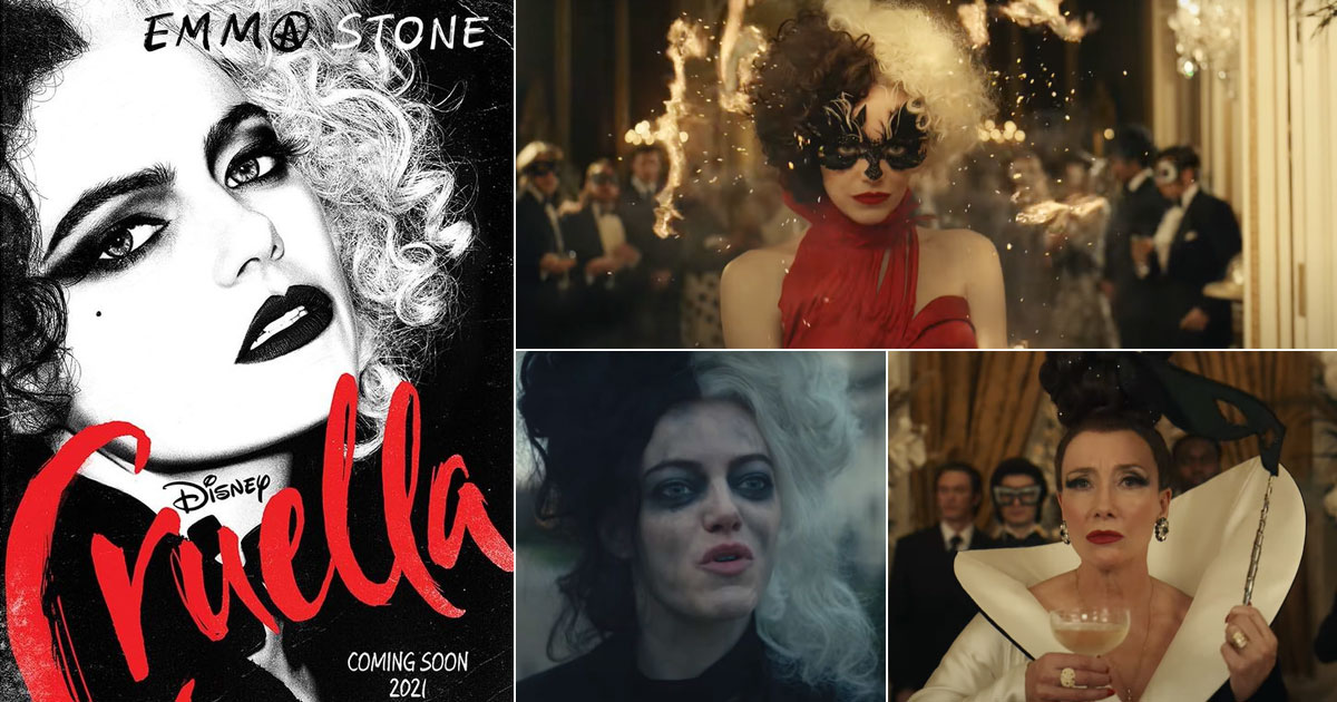 WALT DISNEY STUDIOS RELEASES THEEXCITING OFFICIAL TRAILER AND POSTER OF ITS MUCH-AWAITED LIVE-ACTION FILM – CRUELLA