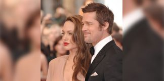 When Angelina Jolie Stole Brad Pitt's Thunder On The Red Carpet With Her Nude Versace Gown