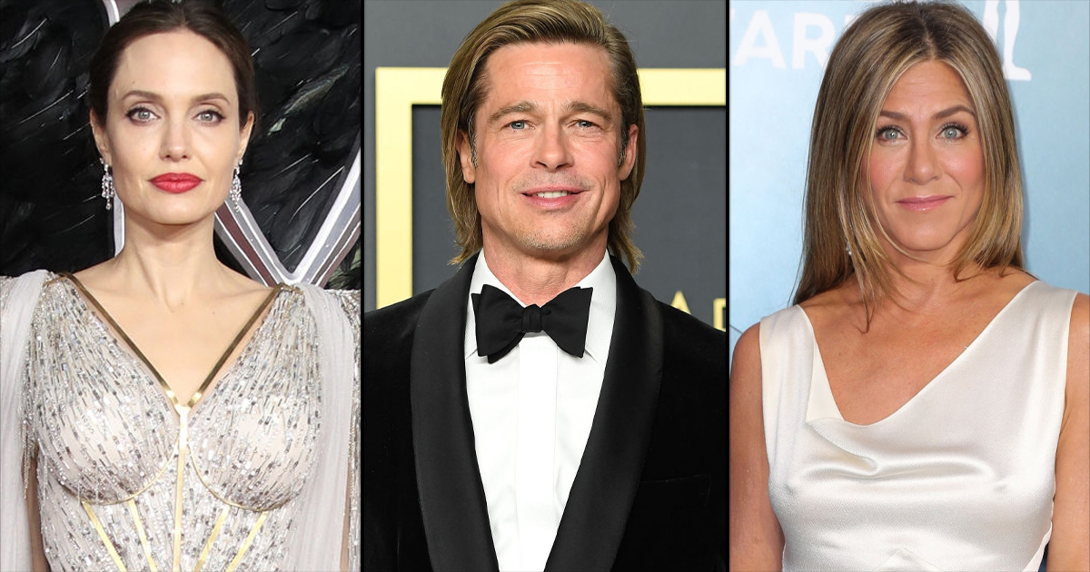 Jennifer Aniston & Brad Pitt Were Supposed To Come Back Together On Her 37th Birthday But Reports Of Kissing Angelina Jolie Ruined It All!