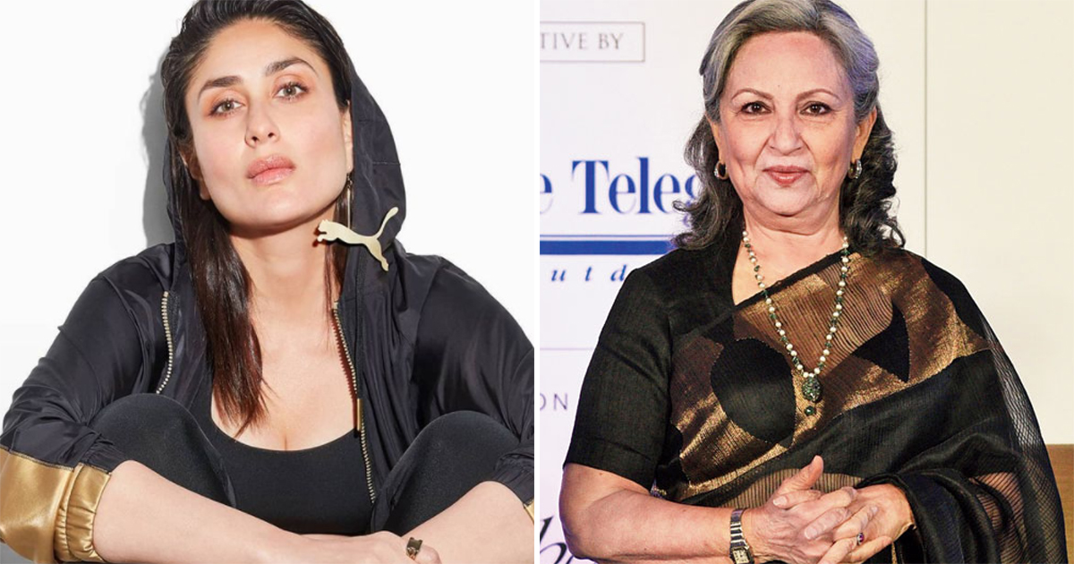 When Sharmila Tagore Spoke Fondly Of Daughter-In-Law Kareena Kapoor Khan, Read On
