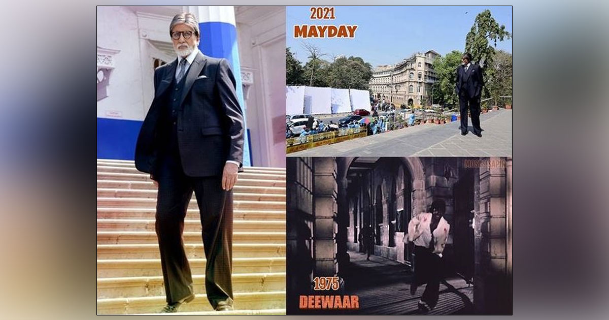 Amitabh Bachchan Reveals The 'Deewar' Connect With 'MayDay'